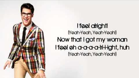 Glee - Shout (Lyrics)-0