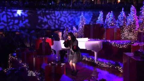 Glee Charice Jingle Bell Rock 2010 Rockefeller NBC Christmas NYC
