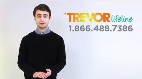 The Trevor Project PSA with Daniel Radcliffe