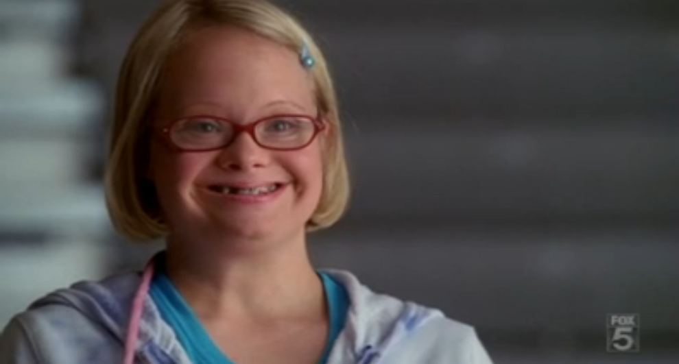 Glee down syndrome dating