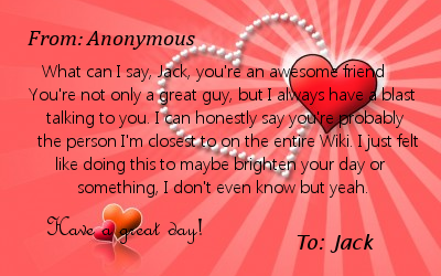 Valentine S Day Love Letter For You Glee Tv Show Wiki Fandom