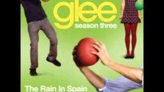 Glee - The Rain In Spain (DOWNLOAD MP3 + LYRICS)