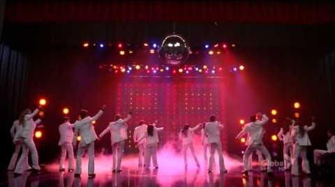 Glee Cast - Stayin' Alive (3x16)