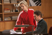 11 Sue und Mr Schuester in Comeback