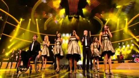 Glee cast -Don't Stop Believing - X Factor