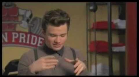 """GLEE - Behind The Scenes 3x16 """"Saturday Night Glee-Ver"""""""