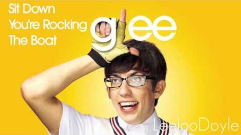 Glee Cast - Sit Down You're Rocking The Boat (HD)