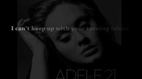 Adele -Turning Tables with lyrics