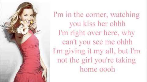 Dancing On My Own Glee Lyrics