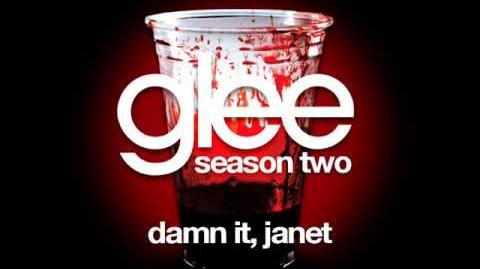 Glee - Damn It Janet (Acapella)