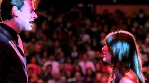 Glee-Rachel and Finn-Pretending (full scene)