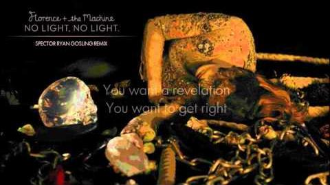 Florence The Machine - No Light, No Light (Spector Ryan Gosling Remix)