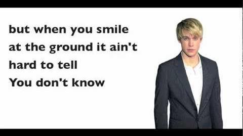 Glee - What Makes You Beautiful (Lyrics)-0