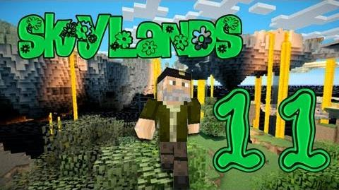"""TESOROS!!"" Episodio 11 - MINECRAFT - SKYLANDS Survival"