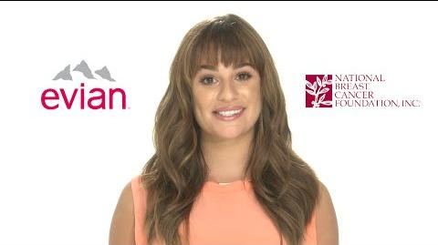 Evian, Lea Michele & NBCF Want You To Know A Self-Exam Is FasterThan You Think-0