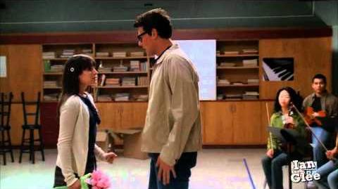 Glee - Dammit, Janet! (Finn & Rachel) HD