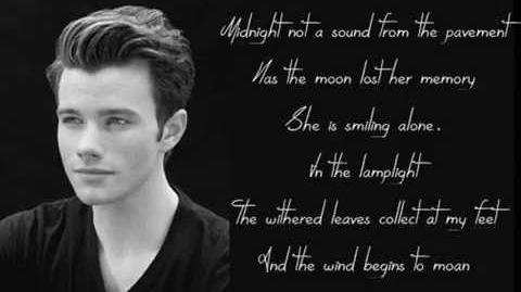 Glee - Memory (Lyrics Picture)