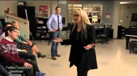 Behind the Glee 2x15 Sexy