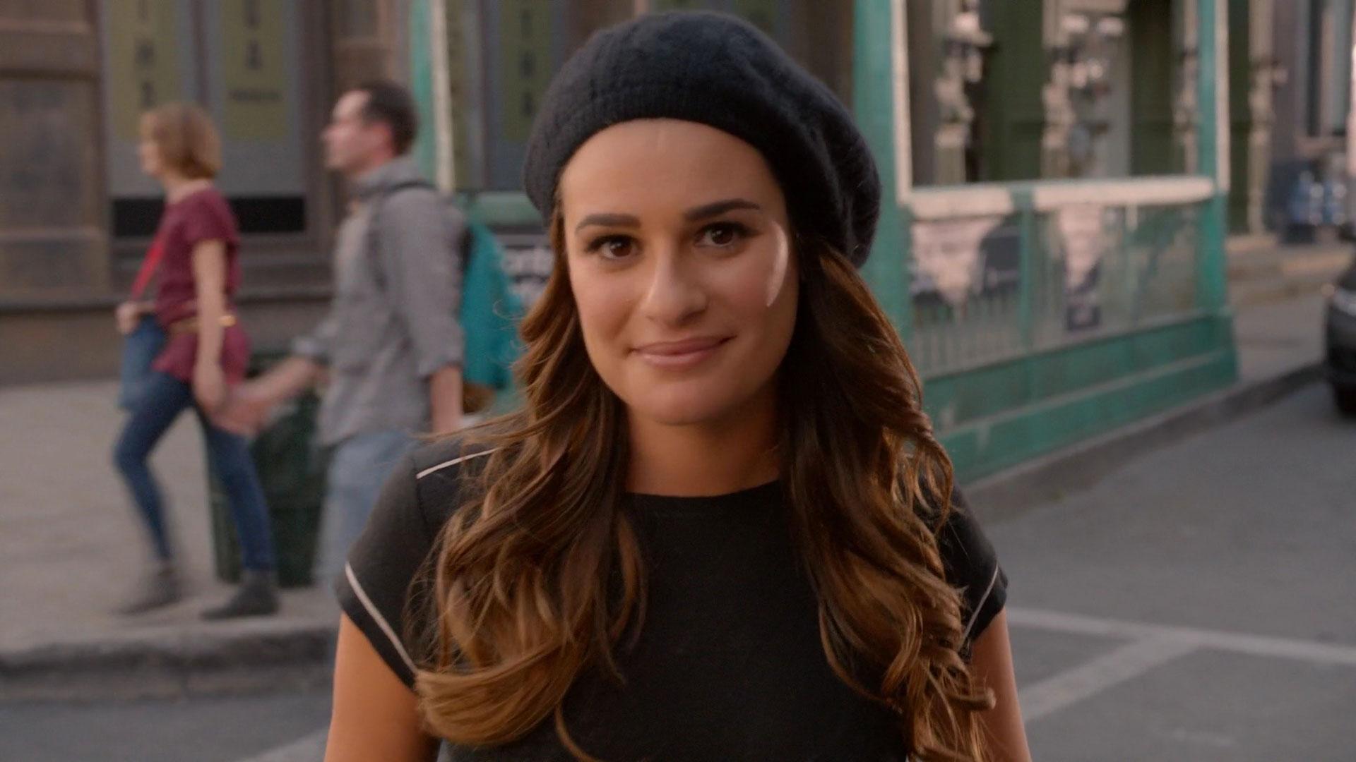Watch The Girls From Glee In Their Underwear video