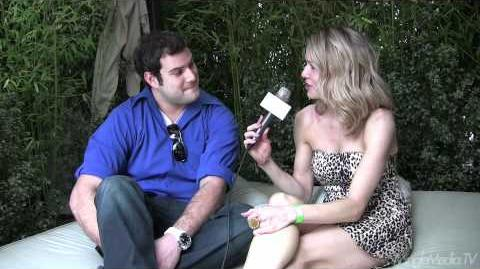 Max Adler at the Nivea For Men Mansion Hospitality Suite 68th Annual Golden Globes