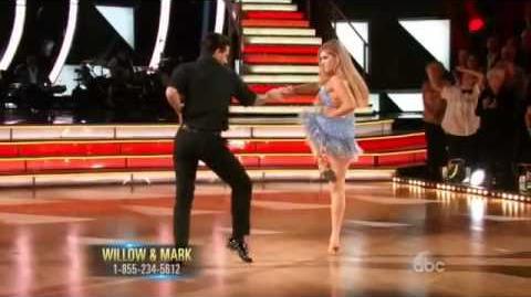Riker VS Willow - Dance Off Salsa