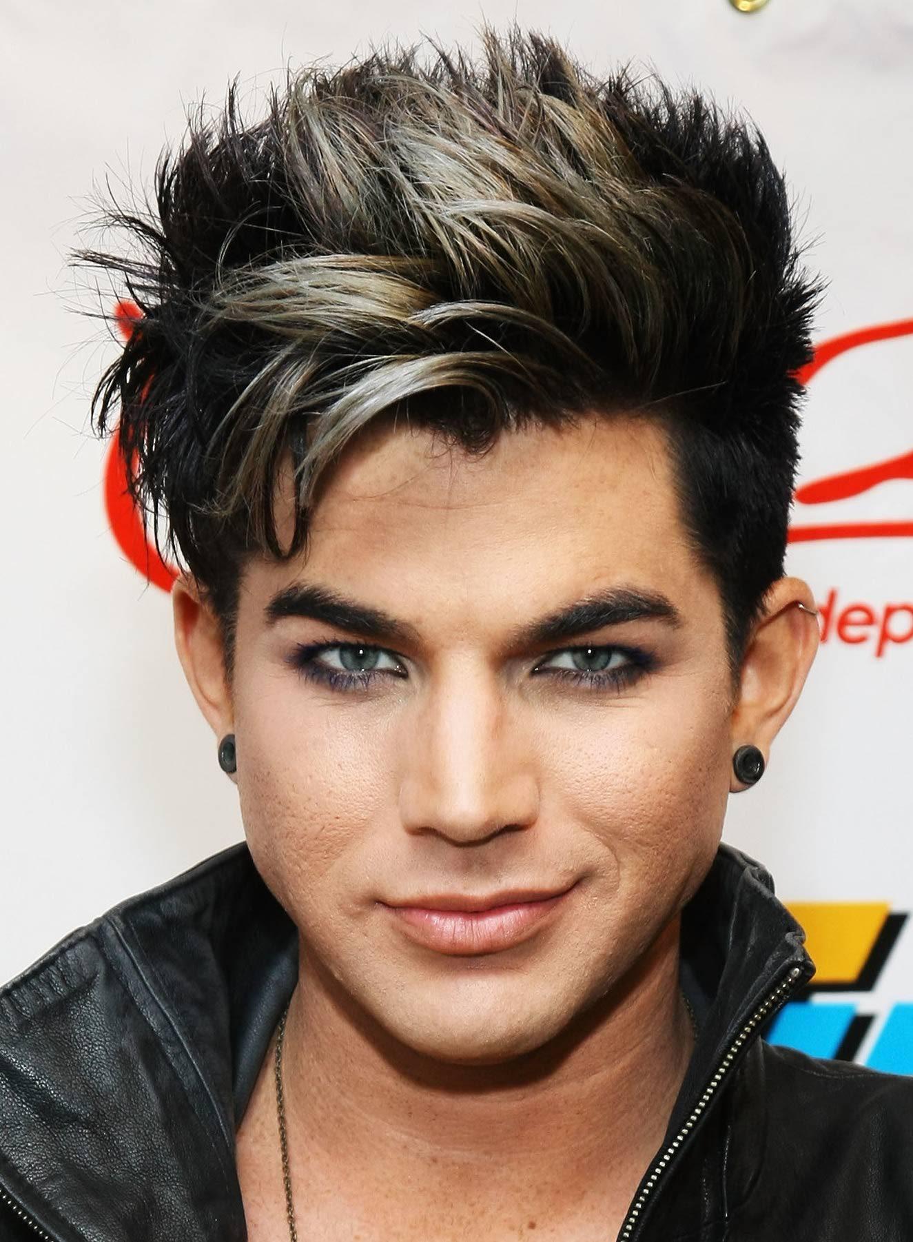 Image Adam Lambert Dye Hairg Glee Tv Show Wiki Fandom
