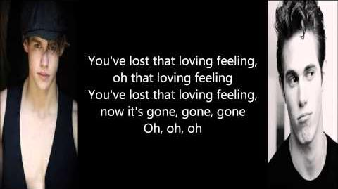 Glee - You've Lost That Lovin' Feelin (Lyrics)
