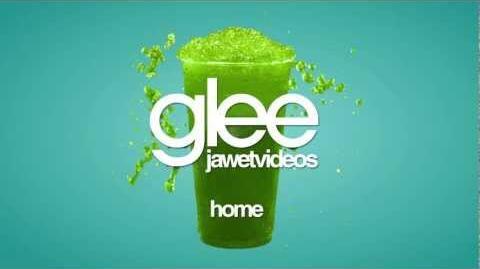 Glee Cast - Home (karaoke version)