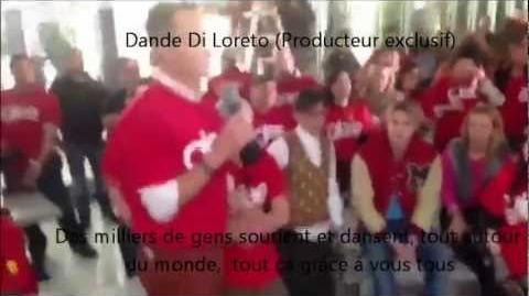 Darren Criss et les membres de Glee célèbrent la 500eme performance de Glee VOSTFR