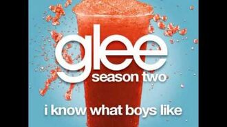 Glee - I Know What Boys Like (DOWNLOAD MP3 + LYRICS)