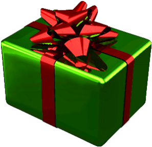 Red Birthday Present Pinata - Walmart.com