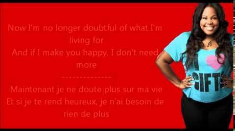 Glee - (You make me feel like) A Natural Woman Paroles & Traduction-0