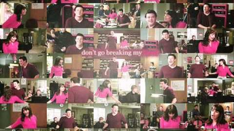 Glee - Don't Go Breaking My Heart (Acapella)