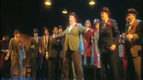 "Guys and Dolls ""sit down, you're rocking the boat"""