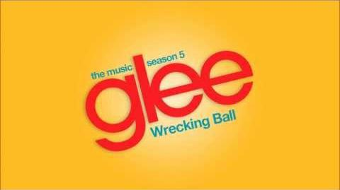 Wrecking Ball Glee HD FULL STUDIO