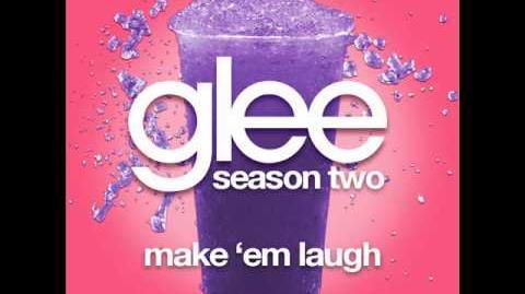 Glee - Make 'Em Laugh (LYRICS)