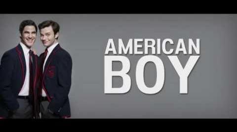 GLEE - American Boy LYRICS