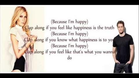 Glee Happy lyrics