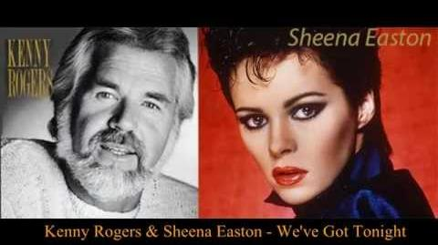 Kenny Rogers & Sheena Easton We've Got Tonight (HQ audio)