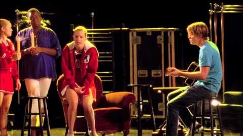 "Full Performance of ""More Than Words"" from ""Shooting Star"" GLEE"