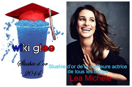 Slushie2014 meilleur actrice
