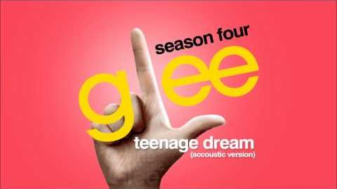 Teenage Dream (Accoustic Version) - Glee HD Full Studio