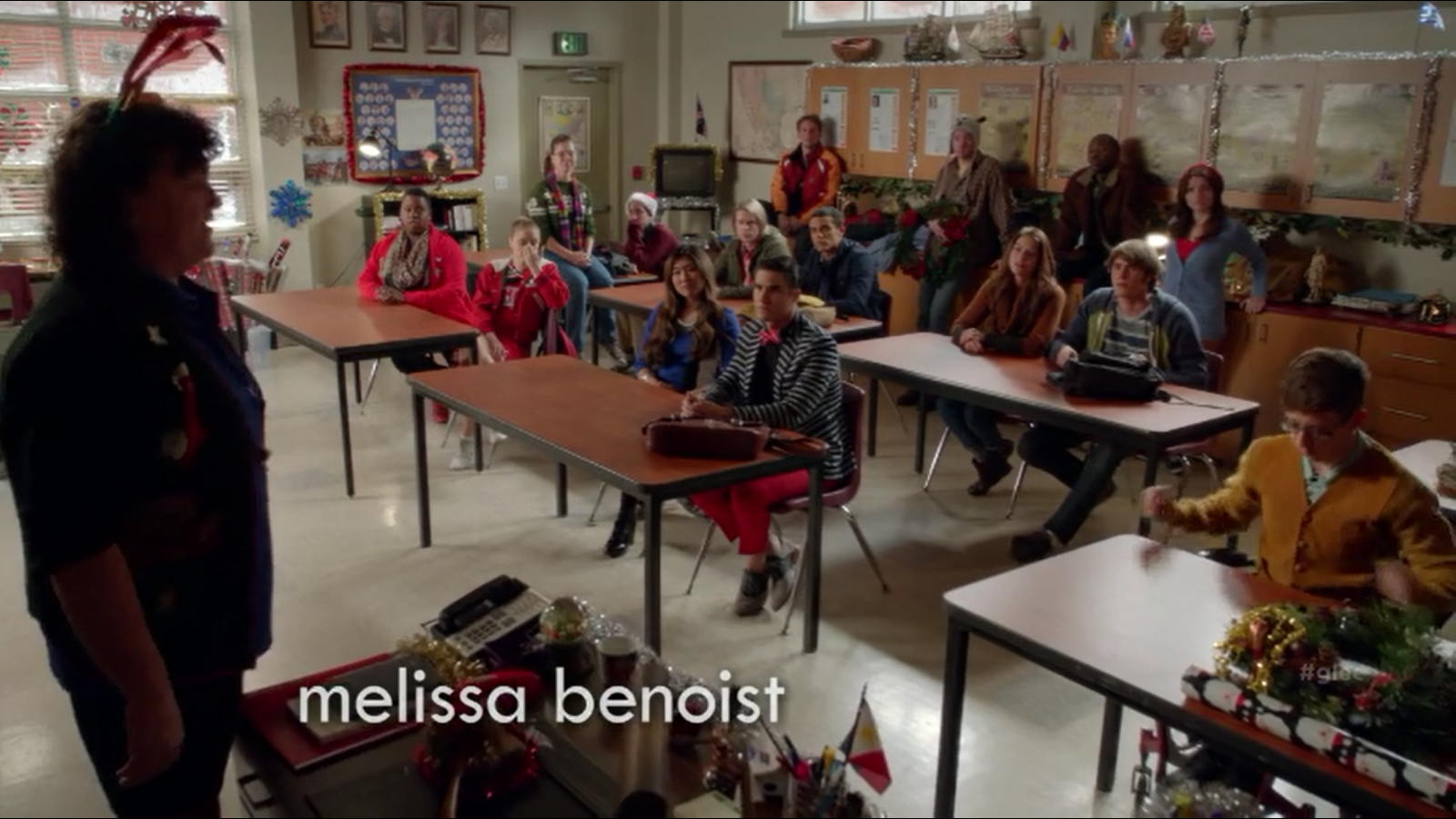 McKinley High Non-Denominational Christmas Club | Glee TV