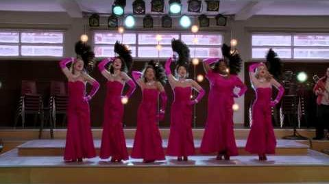 """Diamonds Are A Girls Best Friend Material Girl"" from ""Girls (and Boys) On Film GLEE-0"