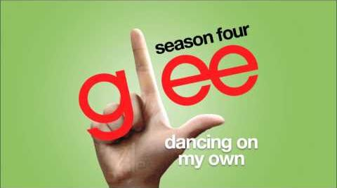 Dancing On My Own Glee HD FULL STUDIO