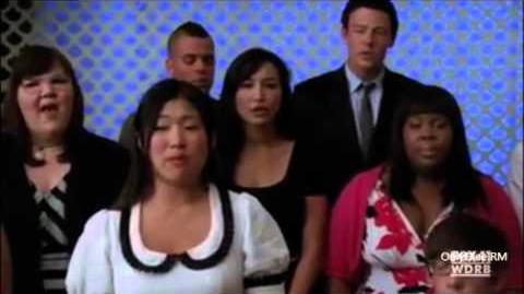 "GLEE ""Pure Imagination"" (Full Performance) From ""Funeral"""