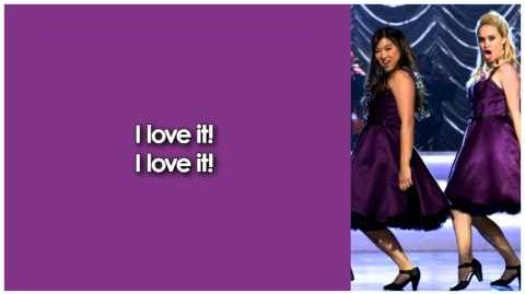 Glee - I Love It (Lyrics)-0