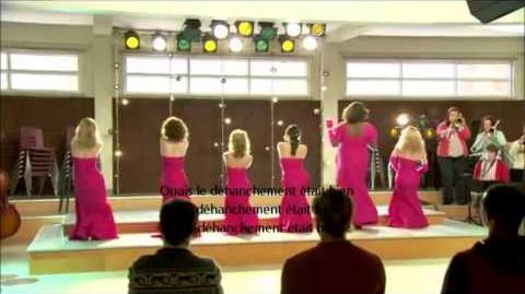 """Glee - Behind the scenes """"Girls (and Boys) on Film"""" VOSTFR"""