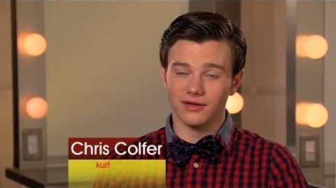 "Glee Behind the scenes 1x14 ""Hell-O"" HQ"