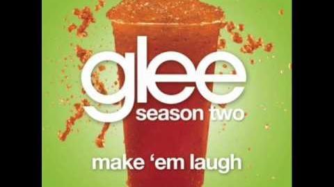 Glee Make 'Em Laugh Acapella